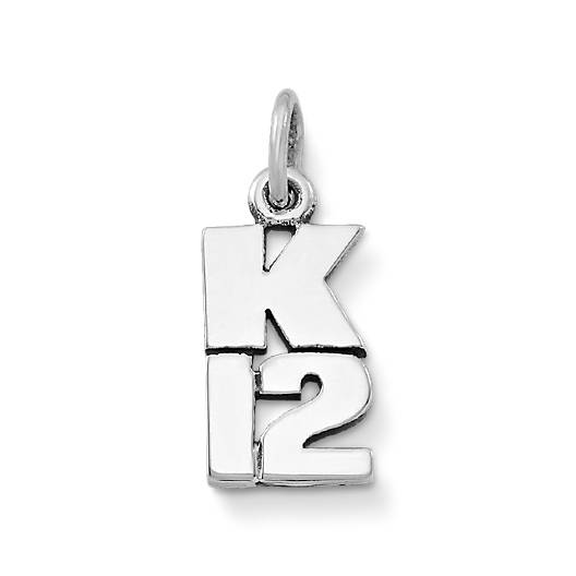 View Larger Image of K-12 Drop Charm