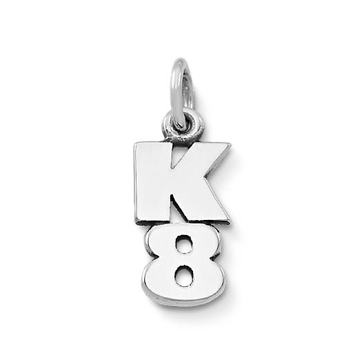View Larger Image of K-8 Drop Charm