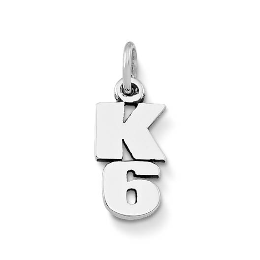 View Larger Image of K-6 Drop Charm