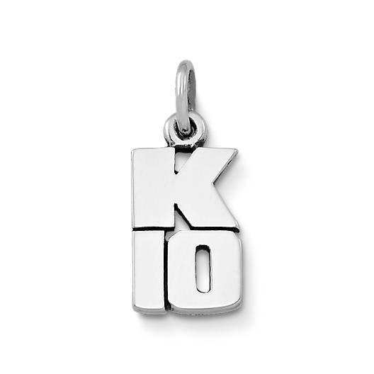 View Larger Image of K-10 Drop Charm