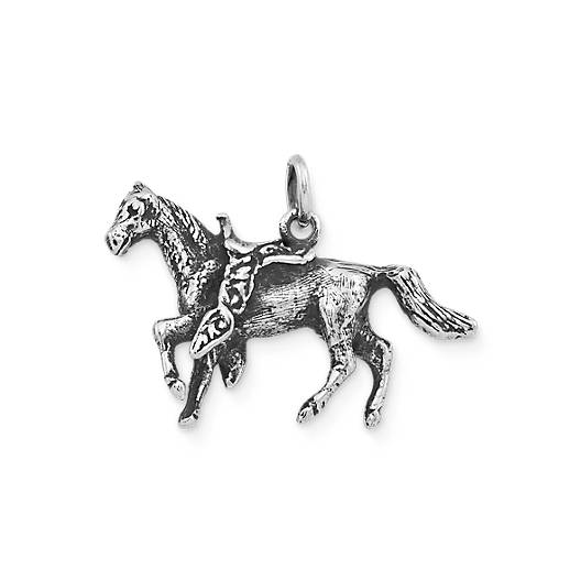 View Larger Image of Saddled Horse Charm
