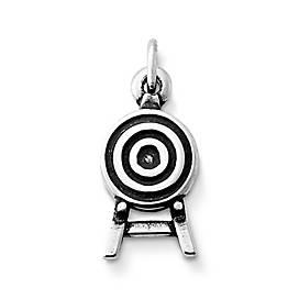 Archery Target Charm
