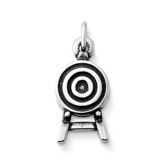 View Larger Image of Archery Target Charm