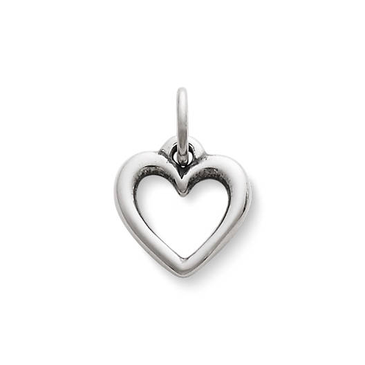View Larger Image of Open Wire Heart Charm