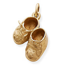 Boy's Baby Shoes Charm