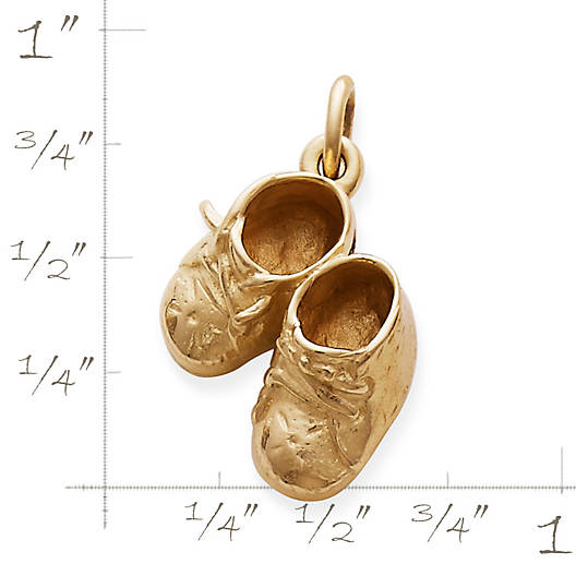 View Larger Image of Boy's Baby Shoes Charm