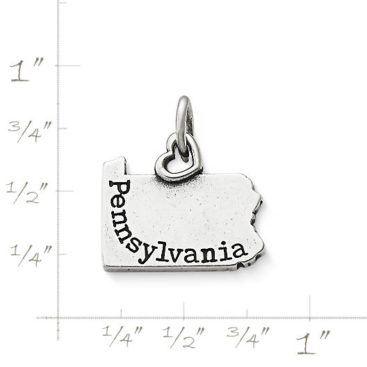 "View Larger Image of My ""Pennsylvania"" Charm"
