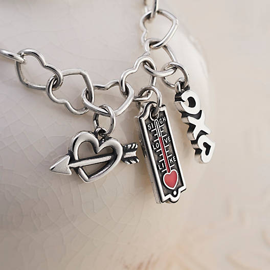 View Larger Image of Love, Kisses & Hugs Charm