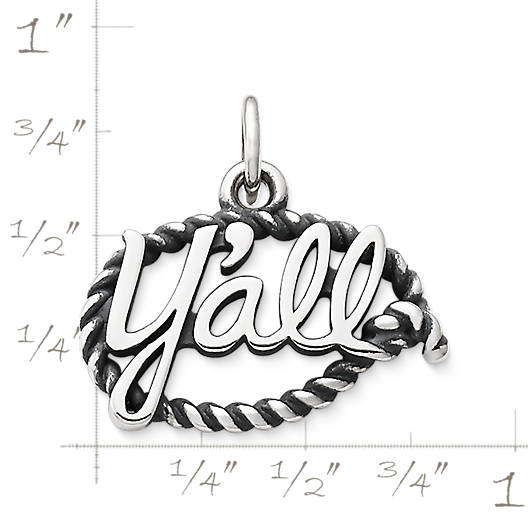 "View Larger Image of ""Y'all"" Charm"