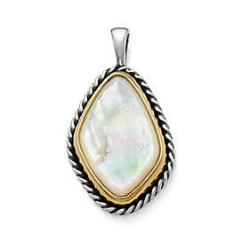 Alessandra Mother of Pearl Pendant