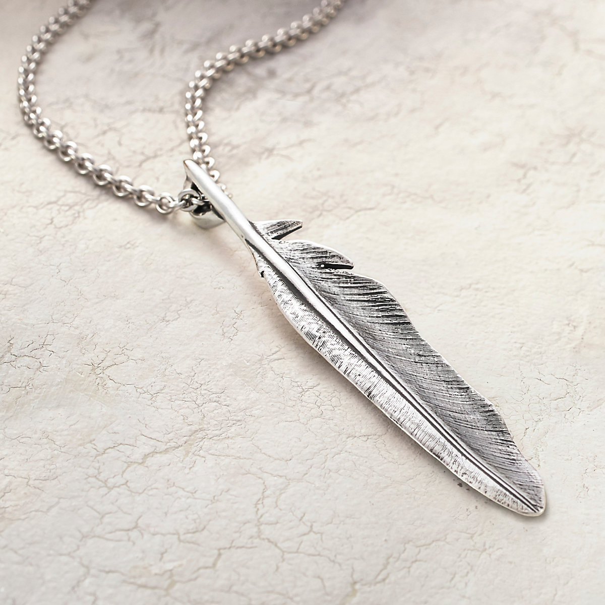Feather pendant james avery home charms pendants feather pendant previous aloadofball Images