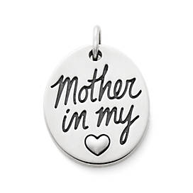 Mother in my Heart Charm