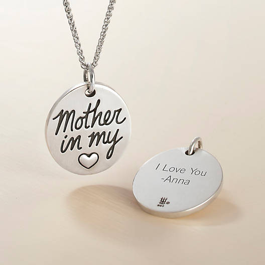 View Larger Image of Mother in my Heart Charm
