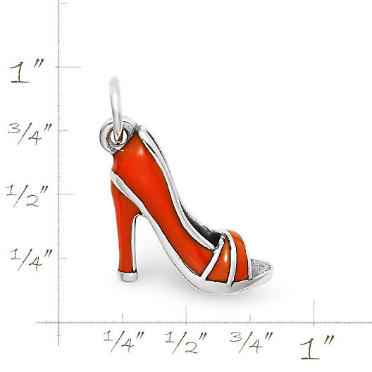 View Larger Image of Enamel High Heel Shoe Charm