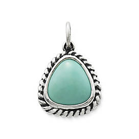 Heirloom Turquoise Pendant