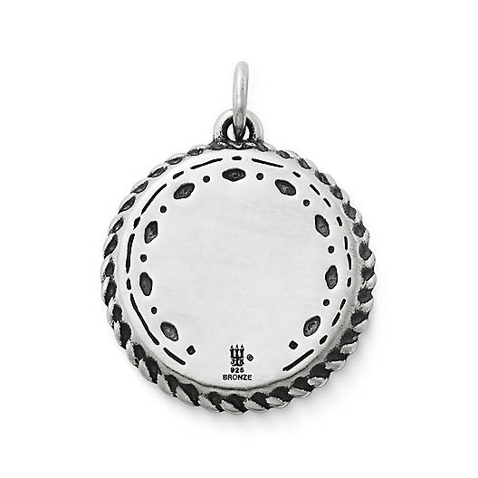 View Larger Image of Heirloom Silver & Bronze Charm
