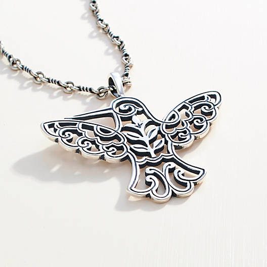 sterling journee free watches jewelry collection hummingbird product silver pendant