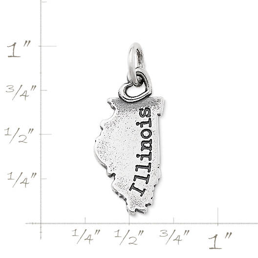 "View Larger Image of My ""Illinois"" Charm"