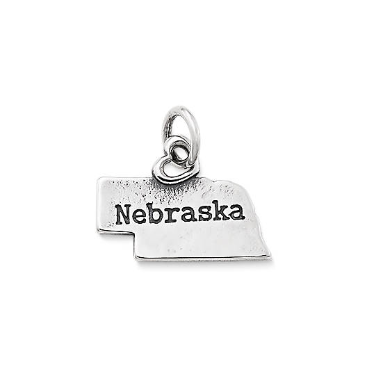 "View Larger Image of My ""Nebraska"" Charm"