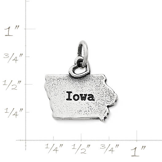 "View Larger Image of My ""Iowa"" Charm"