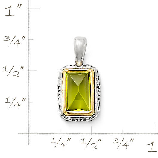 View Larger Image of Graciela Pendant  with Peridot