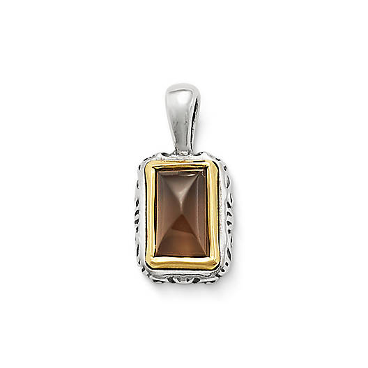 View Larger Image of Graciela Pendant  with Smoky Quartz