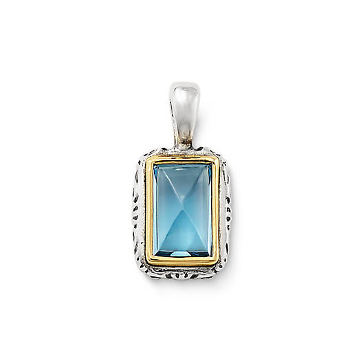 View Larger Image of Graciela Pendant  with Blue Topaz