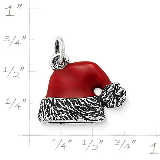 View Larger Image of Enamel Santa Hat Charm