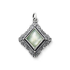 Heirloom Faceted Doublet Pendant