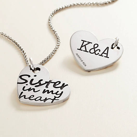 "View Larger Image of ""Sister in My Heart"" Charm"