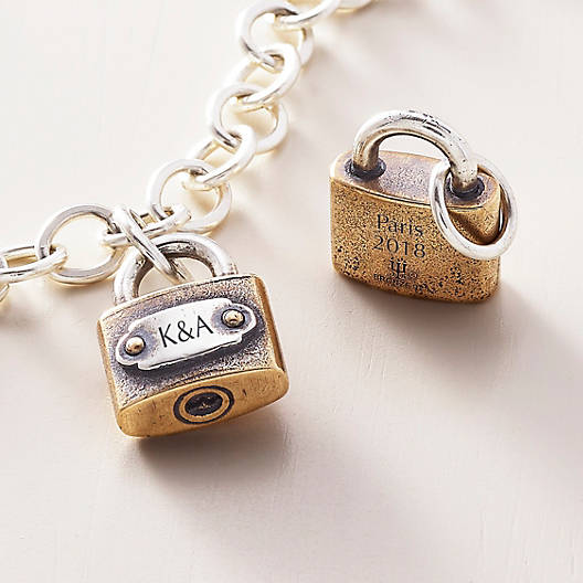 View Larger Image of Bridge Love Lock Charm