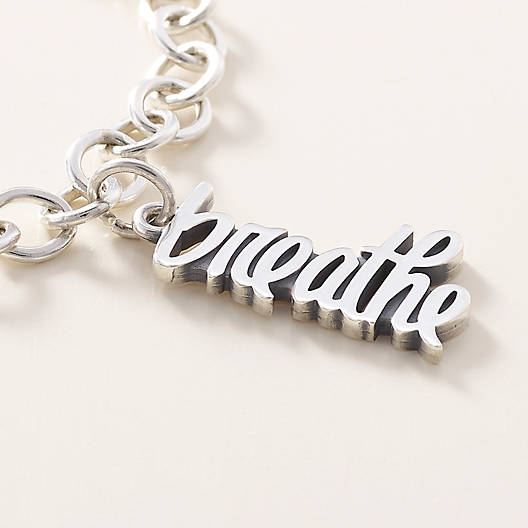 "View Larger Image of ""Breathe"" Charm"