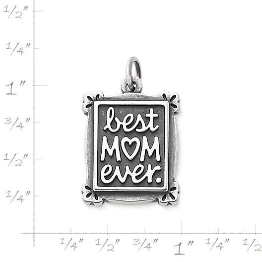 View Larger Image of Best Mom Ever Charm