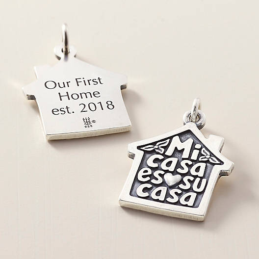 "View Larger Image of ""Mi Casa es su Casa"" Charm"