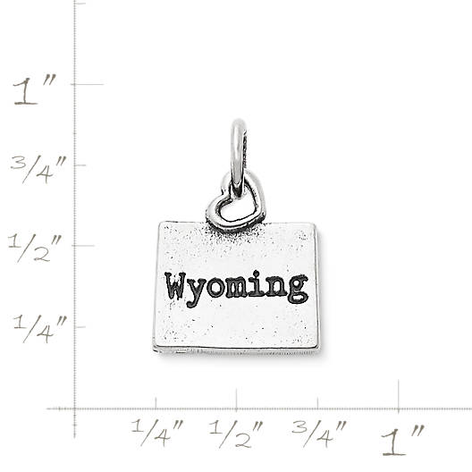 "View Larger Image of My ""Wyoming"" Charm"