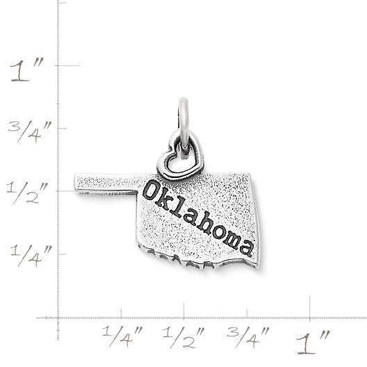 "View Larger Image of My ""Oklahoma"" Charm"