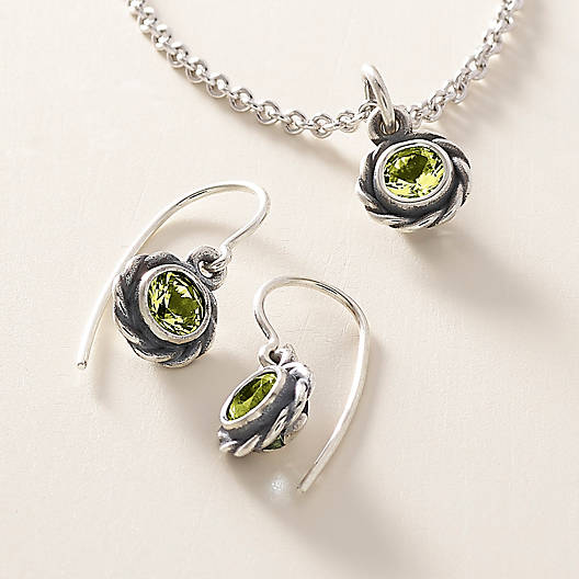 View Larger Image of Elisa Pendant with Peridot