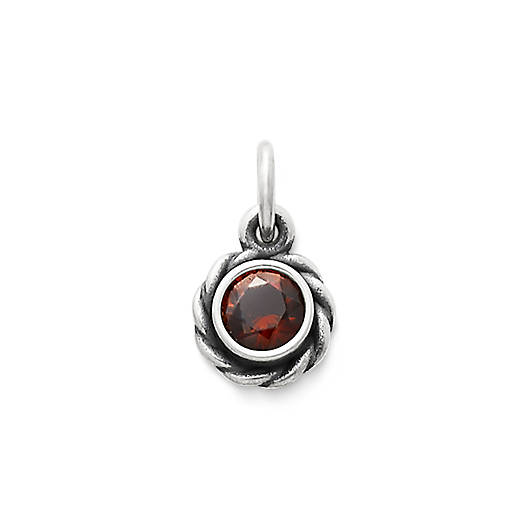 View Larger Image of Elisa Pendant with Garnet