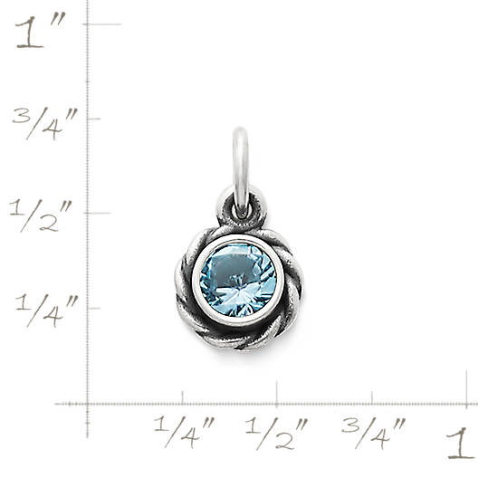 View Larger Image of Elisa Pendant with Blue Topaz