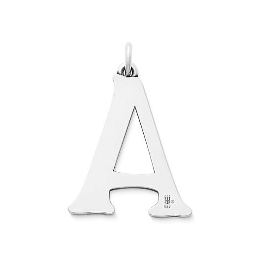 View Larger Image of Vintage Alphabet Pendant