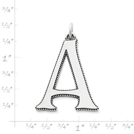 View Larger Image of Vintage Alphabet Pendant