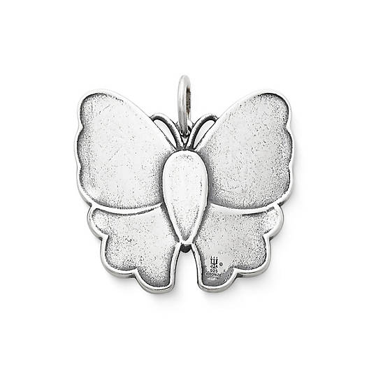 View Larger Image of Brocade Butterfly Pendant with Mother of Pearl