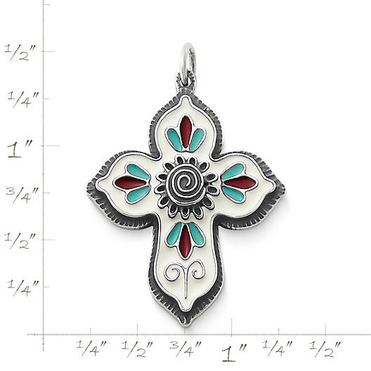 View Larger Image of Enamel Cruz De La Flor