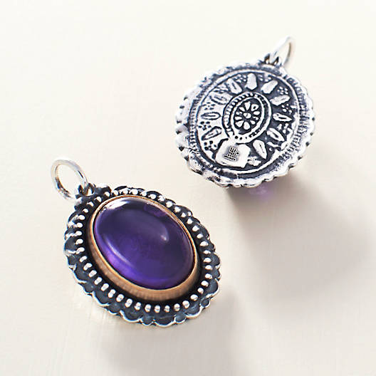View Larger Image of Heirloom Amethyst Pendant