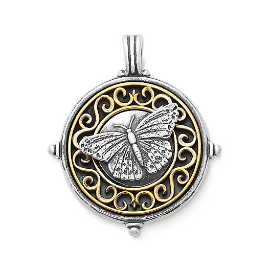 View Larger Image of Scrolled Butterfly Pendant