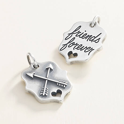 "View Larger Image of ""Friends Forever"" Charm"