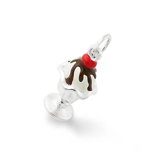 View Larger Image of Enamel Hot Fudge Sundae Charm