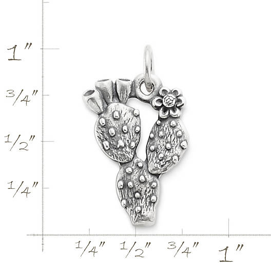View Larger Image of Prickly Pear Cactus Charm