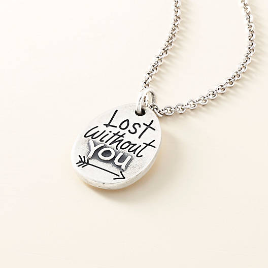 "View Larger Image of ""Lost Without You"" Charm"