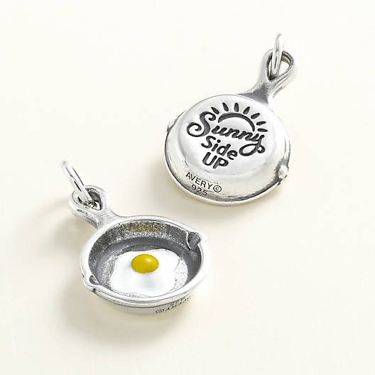 "View Larger Image of Enamel ""Sunny Side Up"" Charm"